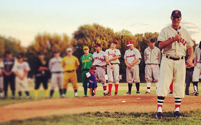 Oldtime Baseball Game 2012 Peter Frates